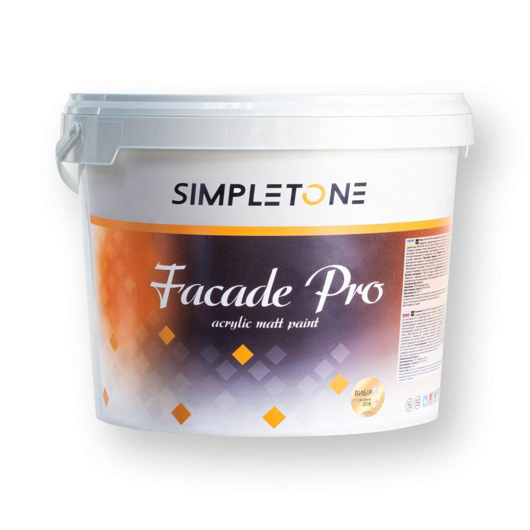 Фасадная акриловая матовая краска Facade Pro
