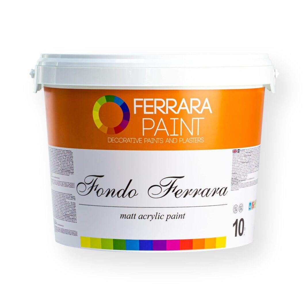 Матова фарба Fondo Ferrara