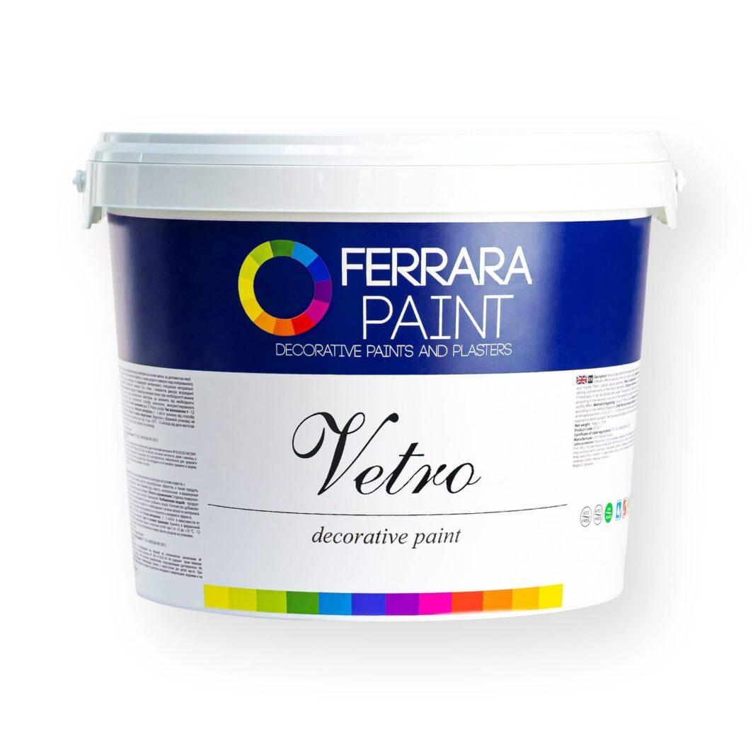 Декоративна фарба Vetro